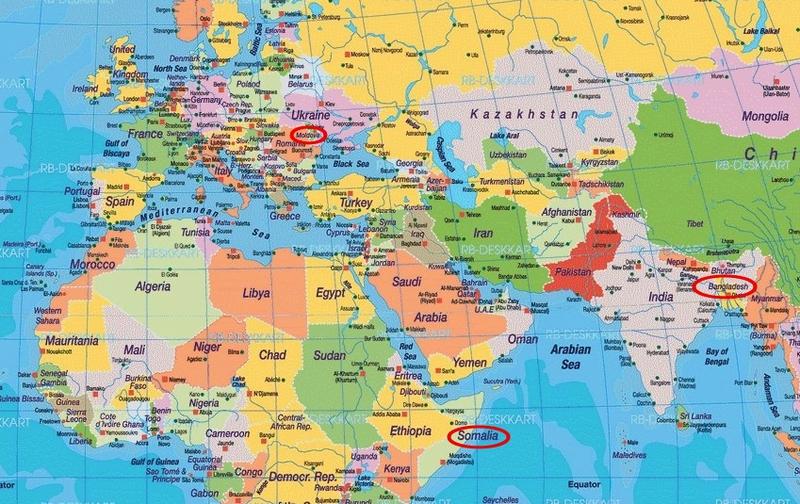 carte monde2