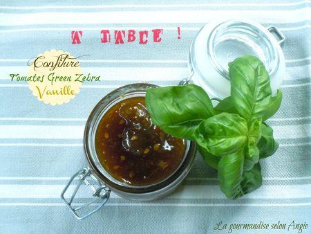 confiture tomates vertes vanille 1