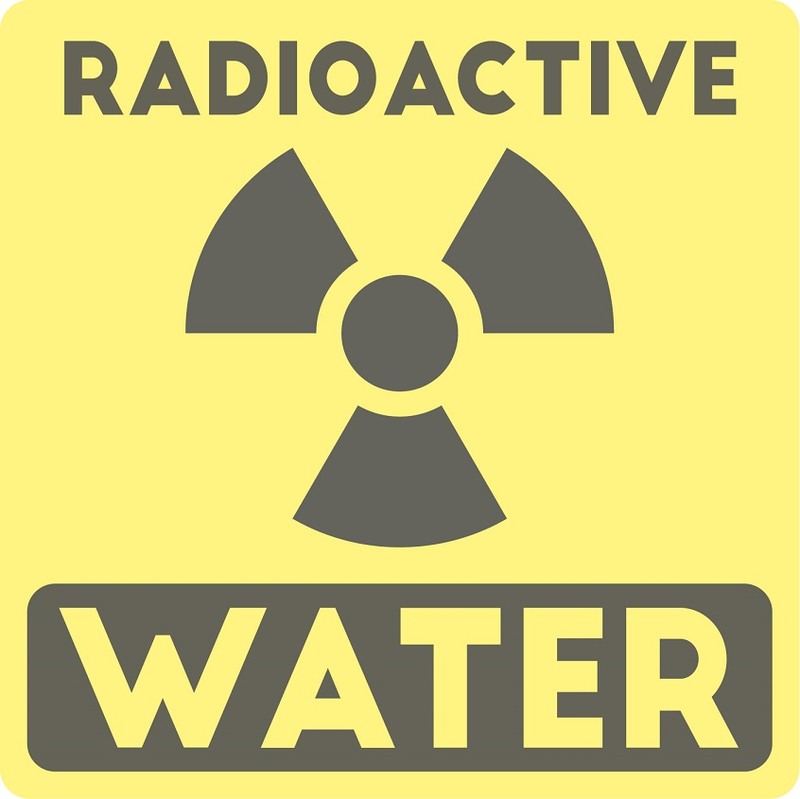 radioactive water zombie