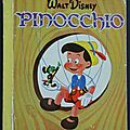 Livre collection ... pinocchio (1959) * albums roses *