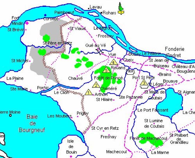Les 5 camps de La Catheliniere