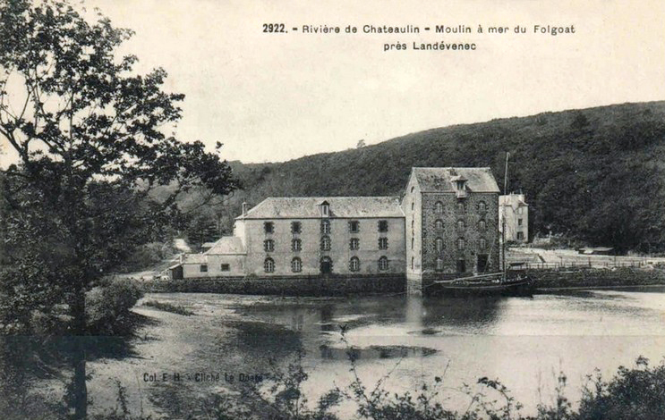 carte-postale-ancienne-moulin-marc3a9e-folgoat