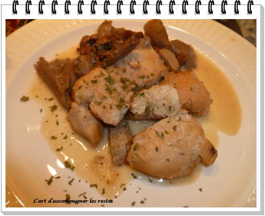 Sauté de dinde aux champignons des bois ww 1