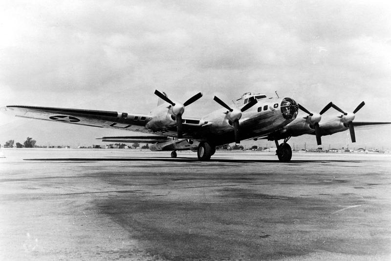 Boeing-Vega_XB-38_parked
