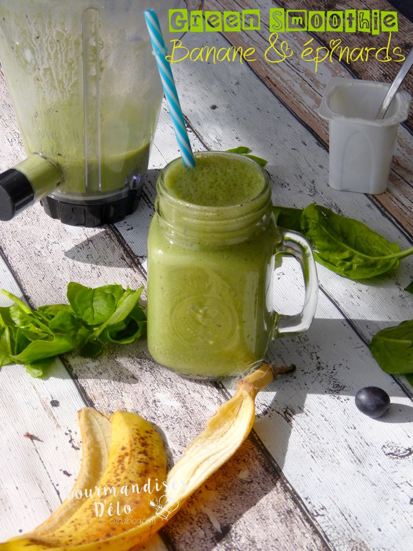 Green smootie banane epinard (6)