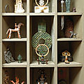 'antic et toc', hommage à nicolas landau réalisé par axel vervoordt avec plusieurs objets ayant appartenus à nicolas landau