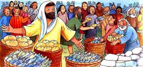 Dix-huitième dimanche du Temps Ordinaire — Année A dans Catéchèse 116930436
