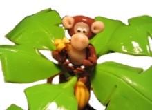 Le singe aux bananes