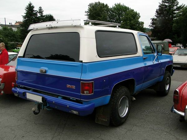 gmc jimmy 1983 1984 b