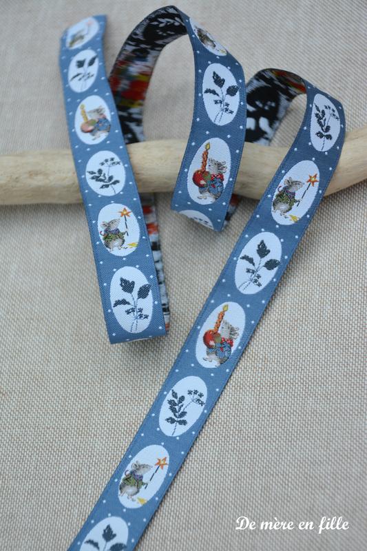 ruban souris bleues 2
