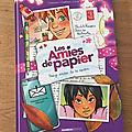 Nous avons découvert le tome 3 les amies de papier de cazenove, chabbert et cécile (editions bamboo)