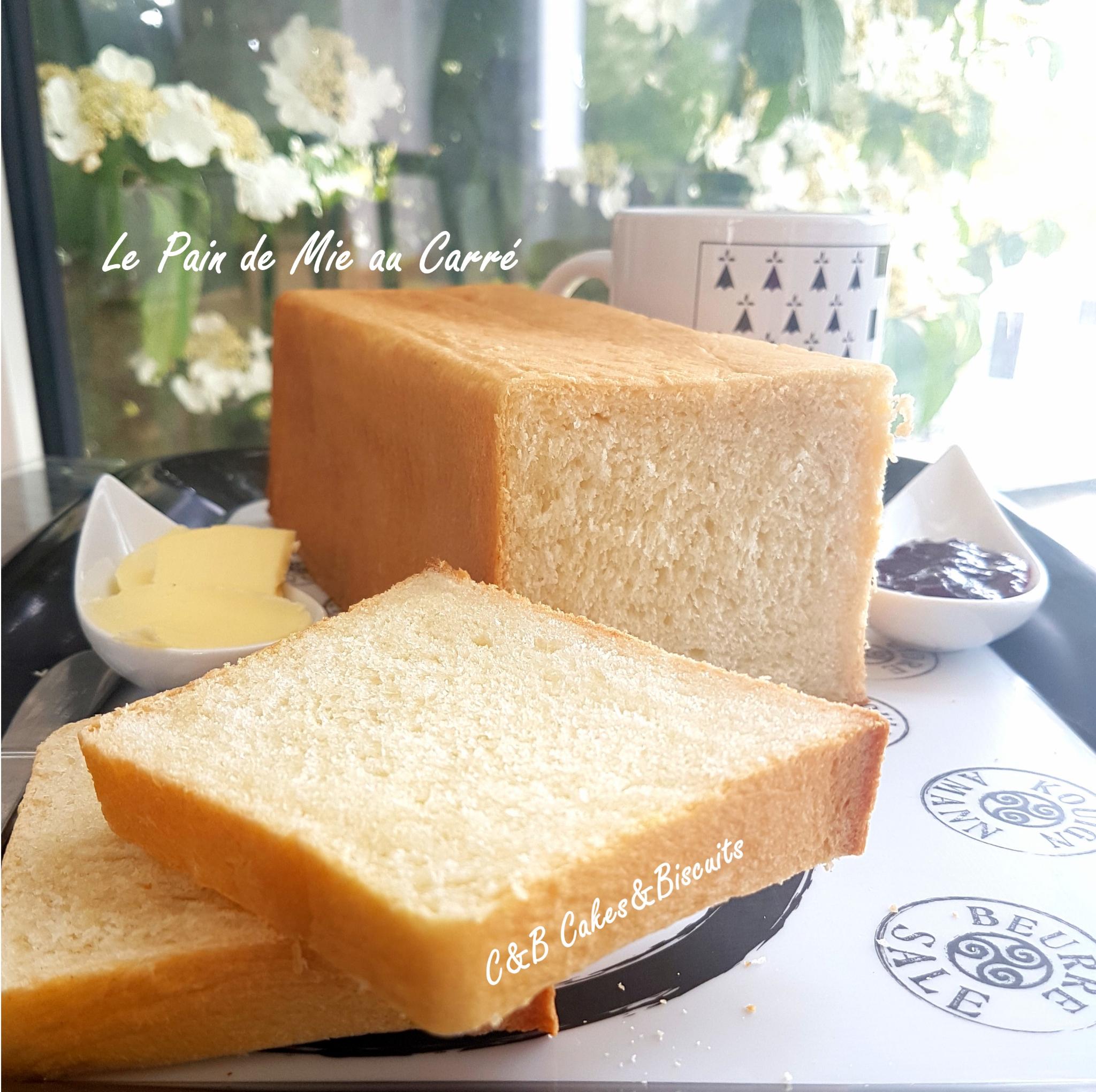 Le Pain de Mie au Carré (et au lait Ribot!)
