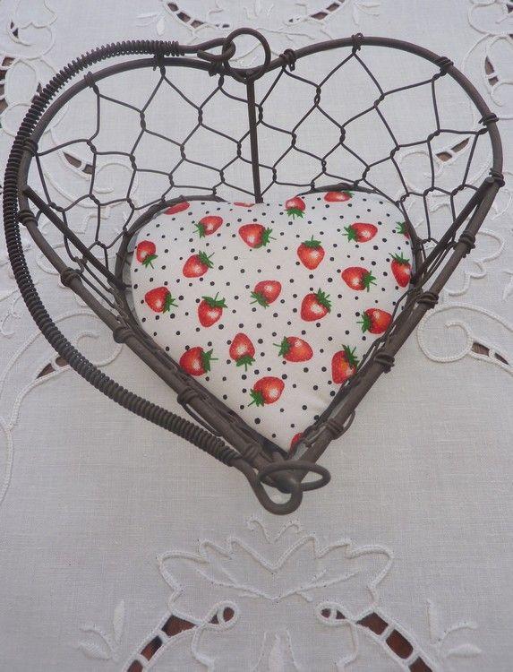 Panier aux fraises