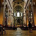 Sous la nef de Saint-Sulpice.