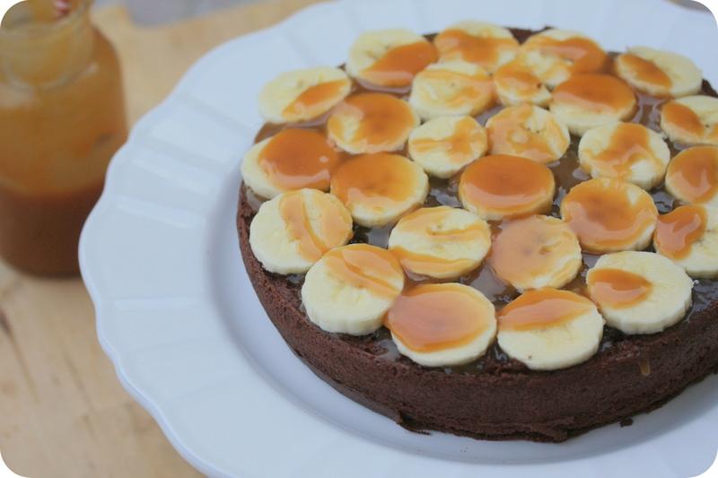 layer cake chocolat banane caramel blog chez requia cuisine et confidences