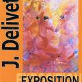 Expositions de peintures de j. delivet