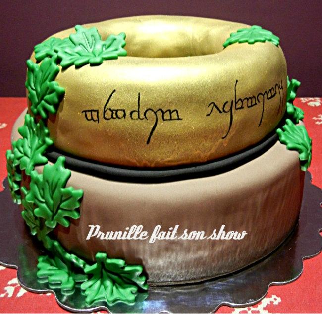 Wedding Cake Le Seigneur Des Anneaux Prunille Fait Son Show