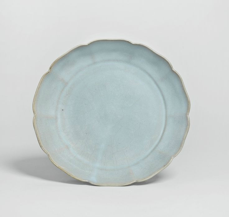 A large 'Jun' mallow-shaped dish, Song dynasty