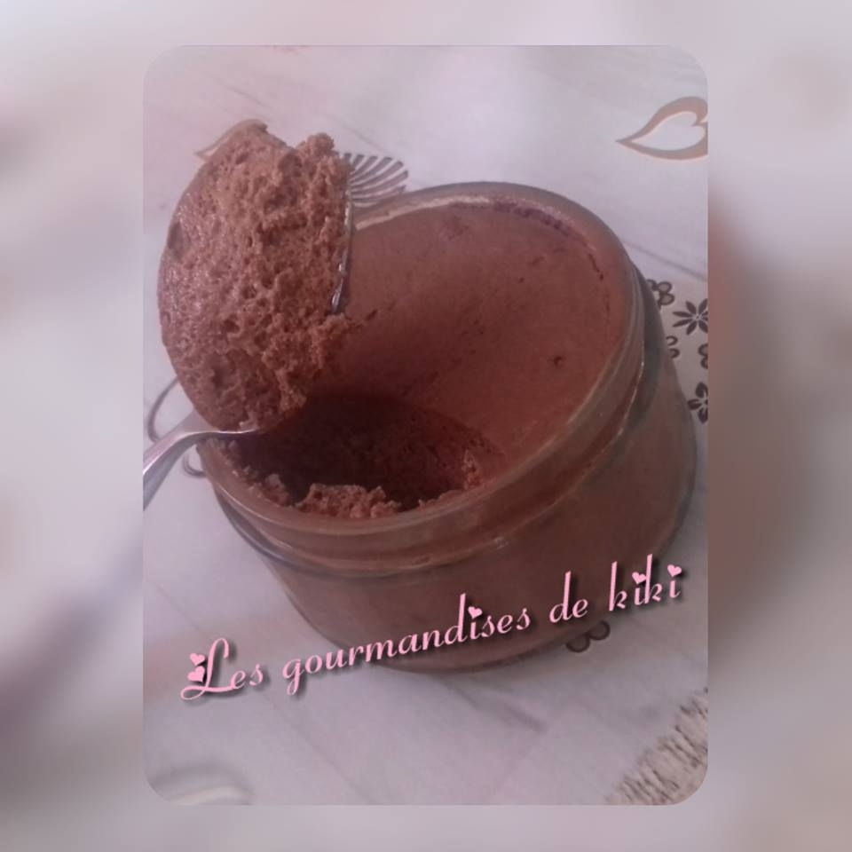Mousse au chocolat ultra light
