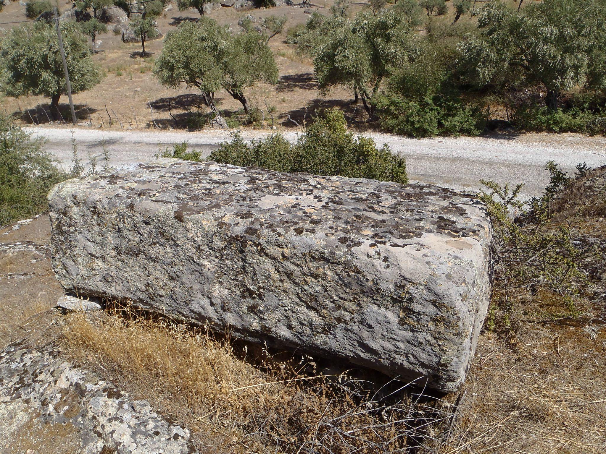 turquie : kapikiri pierre tombale