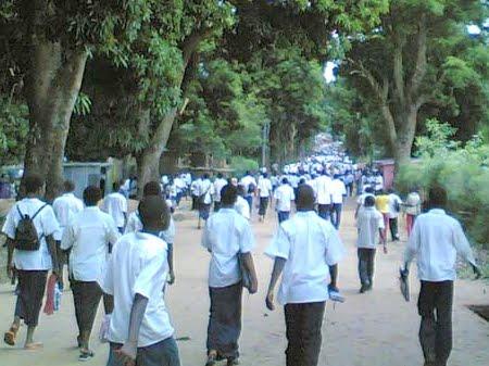 Des eleves à la rentrée scolaire-RDC *Ph.: www.radiookapi.ne