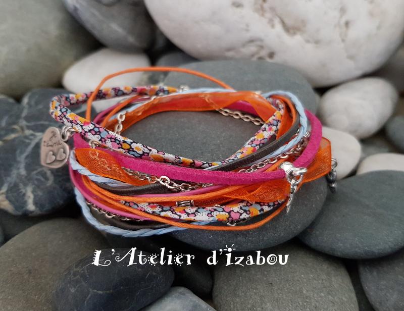20180503_094921 Bracelet coloré fête des mères multimatère