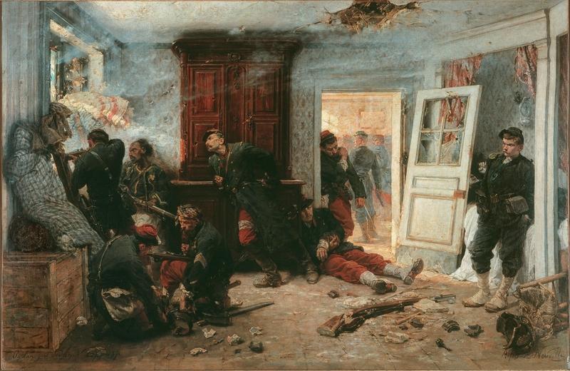 De Neuville, Les dernières cartouches (1873)