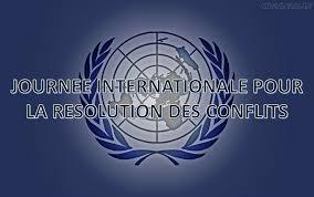 """Résultat de recherche d'images pour """"journée internationale pour la résolution des conflits"""""""