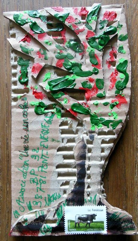 Mail art Arbre
