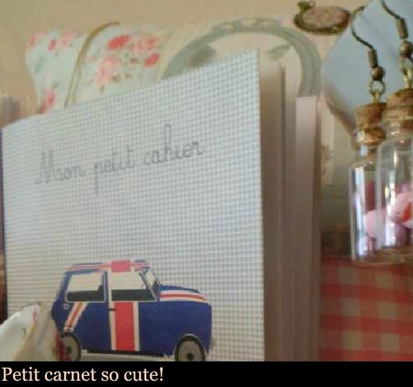 cahier voiture