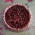 Tarte alsacienne aux mirabelles, sans gluten, sans lait