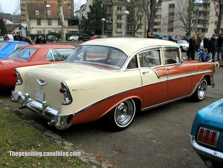 Chevrolet bel air 4door sedan de 1956 (Retrorencard mars 2013) 02