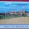 Oingt en Beaujolais