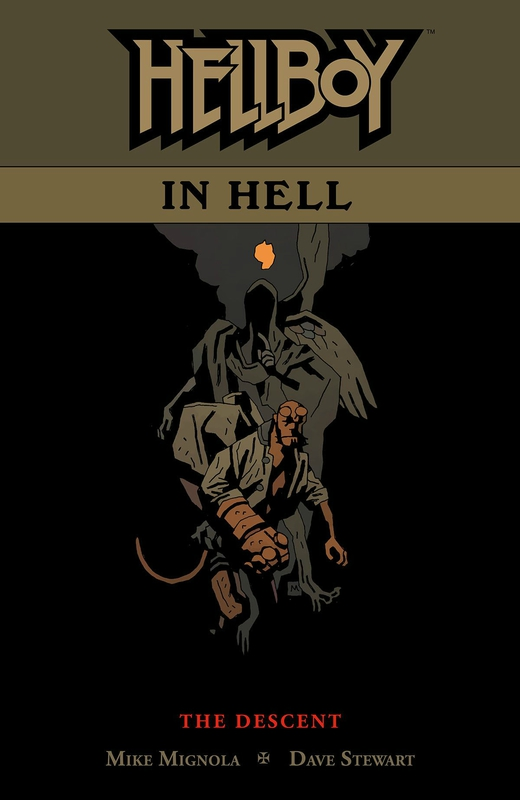 dark horse hellboy in hell vol 1 the descent TP