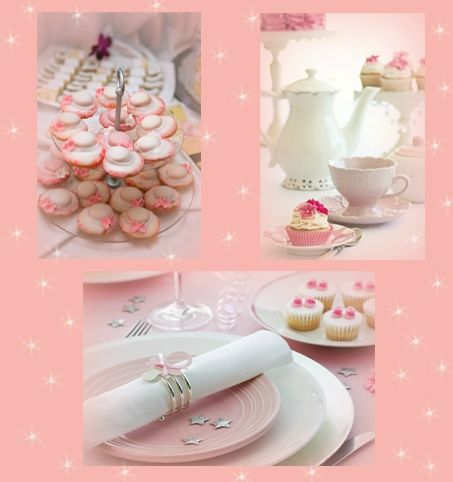 SWEET TABLE PINK PRINCESS