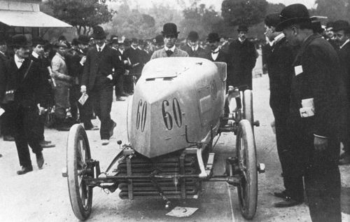 1903 paris-madrid - willie k vanderbilt (mors) dnf