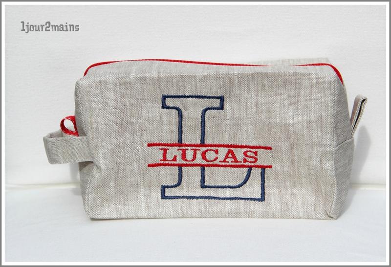 trousse carré Lucas