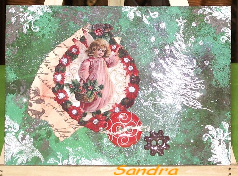 carte de Sandra (girl)