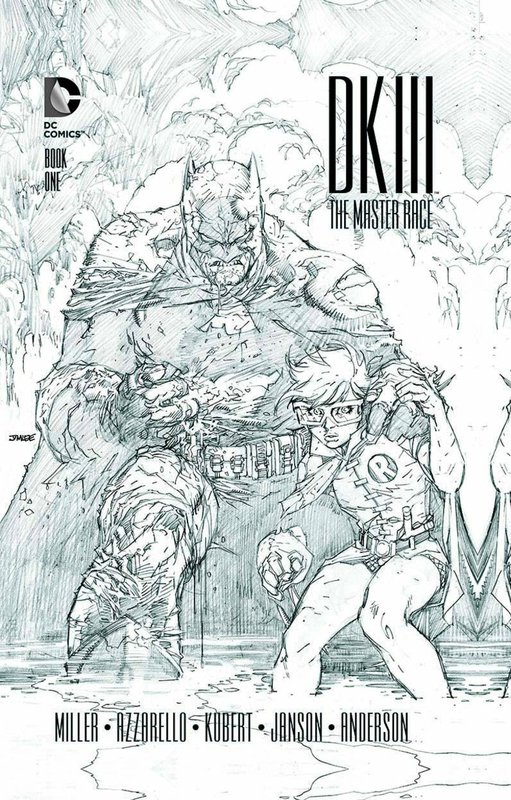 batman DK3 the master race collector edition book one HC