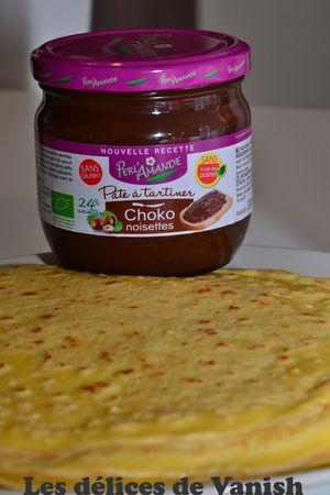 choko noisette - perlamande - bio - crepes - coco