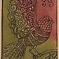 Echange Oiseau Zentangle MD1