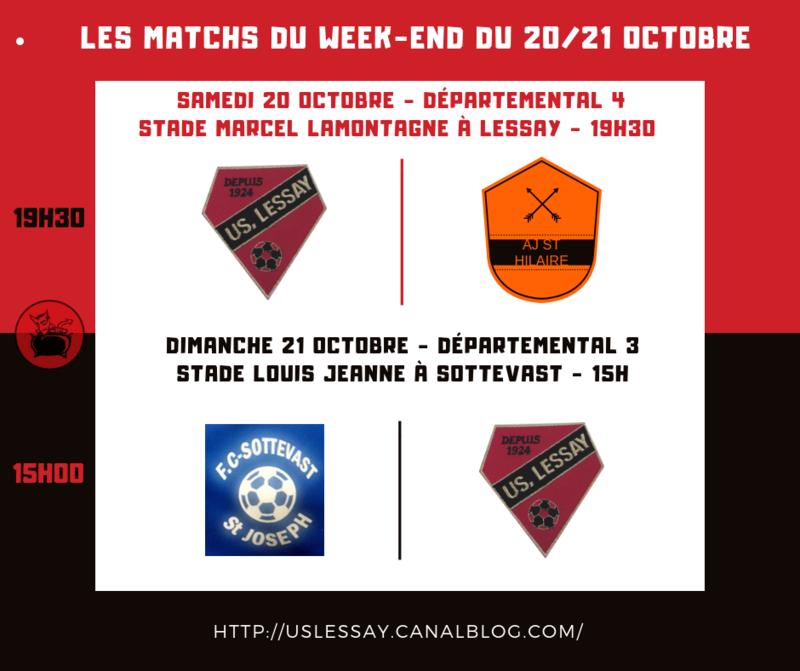 Les Matchs du Week-end (2)