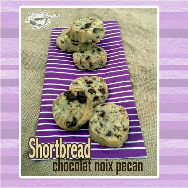 shortbread choco noix de pecan (SCRAP)