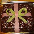 Cadeau au chocolat