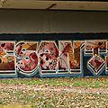 Vesontio besançon doubs peinture murale