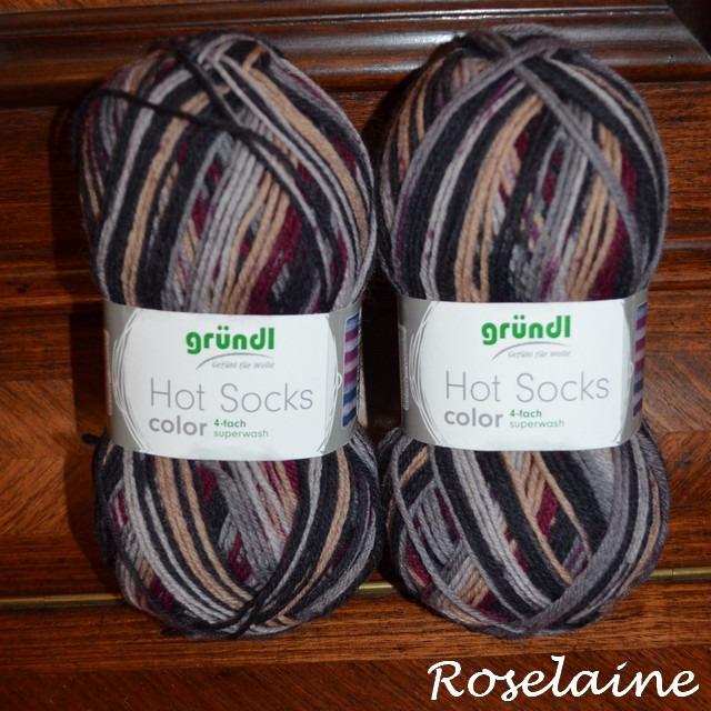 Roselaine Gründl hot socks 2
