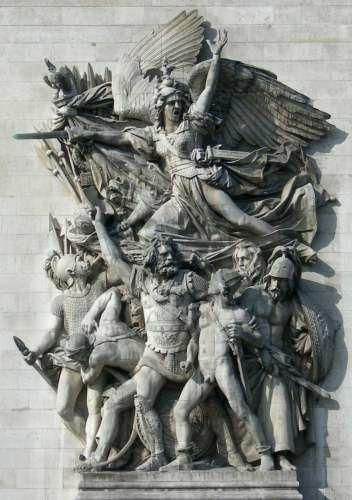 le groupe de la Marseillaise paris_8_triomphe_rude_1