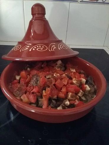 Tajine de mouton aux aubergines et aux épices (1)