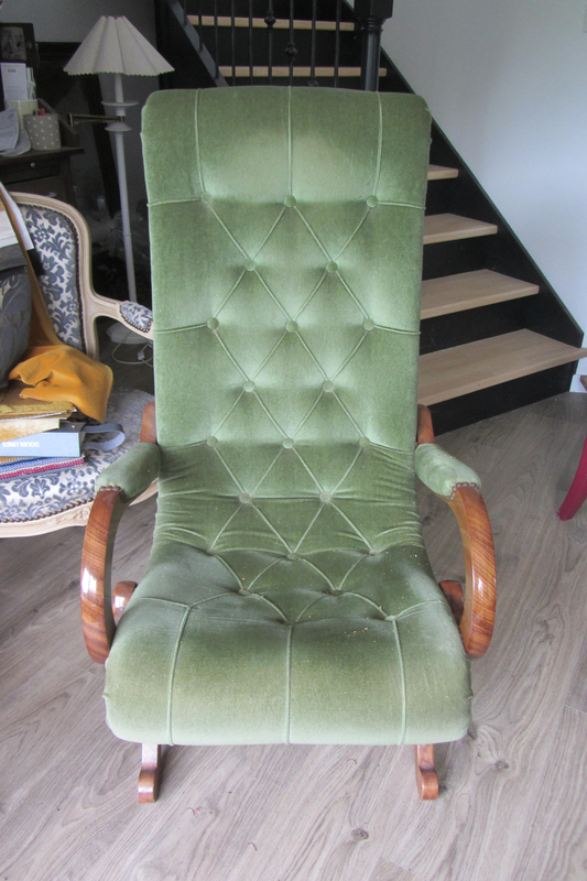 fauteuil style anglais