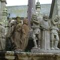Détail du calvaire de Saint-Thégonnec
